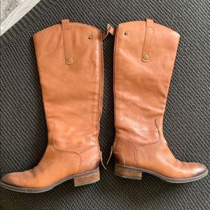 Sam Edelman Tan Leather Boots